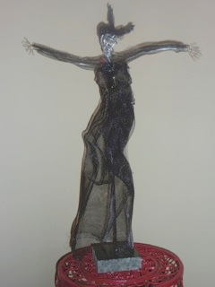 Dancing Wire WOman